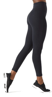 Glyder Apparel Top Notch 7/8's Legging In Black