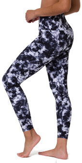 Onzie Black Tie Dye High Rise Legging