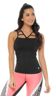 Protokolo Susan Tank In Black