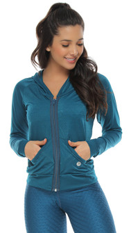 Protokolo Teal Blue Crush Jacket