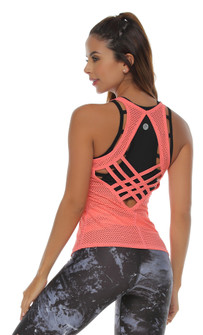 Protokolo Bella Tank in Flamingo Pink