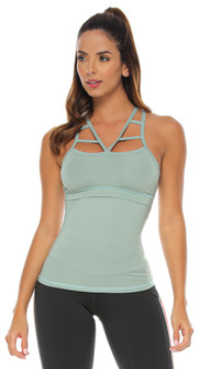 Protokolo Susan Tank In Light Green