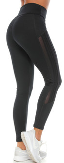 Protokolo Susan All Black Legging