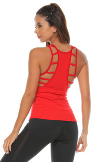 Protokolo Susan Tank In Red