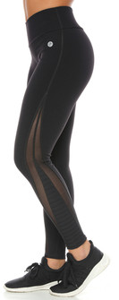 Protokolo Pauline Mesh Legging In Black