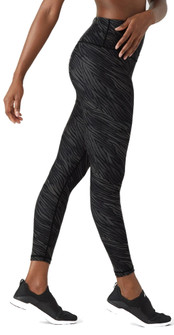 Glyder Apparel High Power Legging 2 - Black Zebra Print