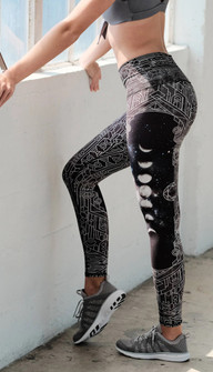 Niyama Sol Wolf Moon High Waisted Legging