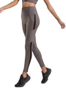 Amari Active Reveal Legging In Pewter