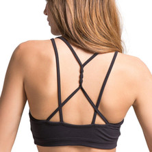 Amari Active Aura Bra In Black