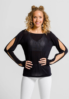 Amari Active Odori Top In Black
