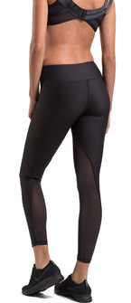 Amari Active Blush Legging In Black