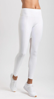 Amari Active Blush Legging In White
