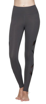 Mulawear Infinity Mesh Panel Leggings In Gray