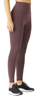 Glyder Apparel High Waist Pure Legging In Deep Plum