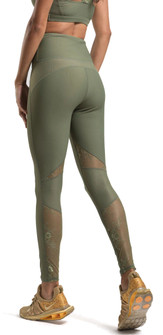 Amari Active Lavish Legging In Olive