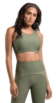 Amari Active Lavish Bra In Olive