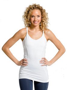 Amari Active Crossing Tank In White