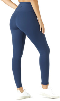 Glyder Apparel High Waist Pure Legging In Navy
