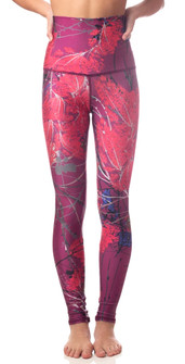 Emily Hsu Designs Sakura Red Sneaker Legging