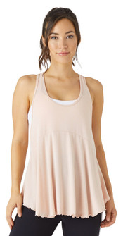 Glyder Apparel Harmony Tank In Rosewater