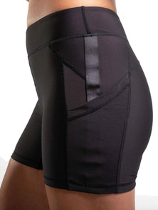 Amari Active Reveal Shorts In Black