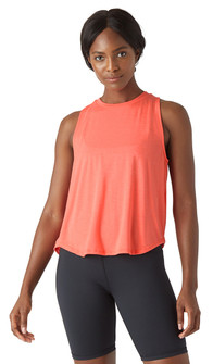 Glyder Apparel Electric Tank In Hot Coral