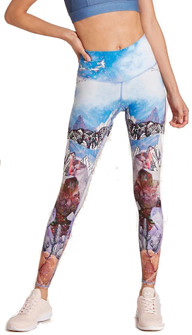 Niyama Sol Crystal Mountains High Waisted Legging