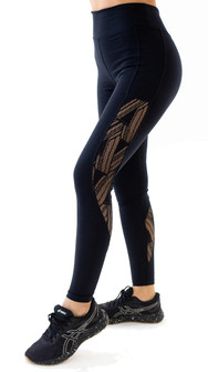 Equilibrium Black Lace Legging