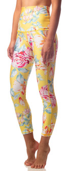 Emily Hsu Designs Canary Blooms 7/8 Legging