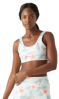 Glyder Apparel Splendid Bra In Tropical Bloom