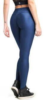 Vestem Shiny Blue Shape Legging