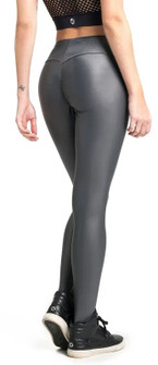 Vestem Shiny Grey Shape Legging