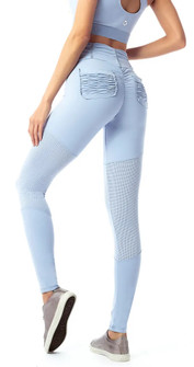 Vestem Baby Blue Power Up Legging