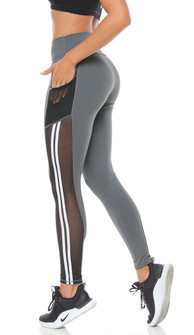 Protokolo Virgina Legging In Gray