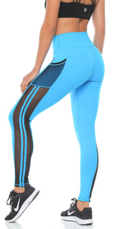 Protokolo Virgina Legging In Turquoise