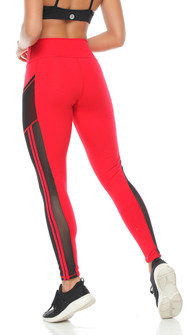 Protokolo Virgina Legging In Red