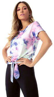 Vestem Color Tie Dye Short Sleeve