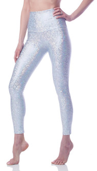 Emily Hsu Designs Crystal Mermaid Sneaker Legging