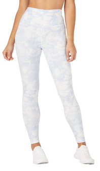 Glyder Apparel Sultry Legging In Blue Tie Dye