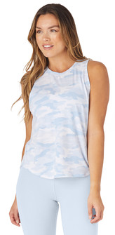 Glyder Apparel Electric Tank In Ice Blue Camo