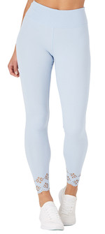 Glyder Apparel Cascade Legging In Ice Blue