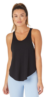 Glyder Apparel Bend Tank In Black