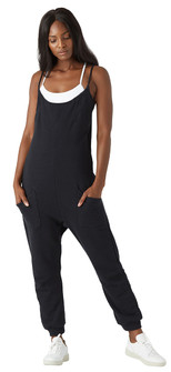 Glyder Apparel Effortless Jumpsuit In Black