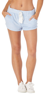 Glyder Apparel Powder Shorts In Ice Blue
