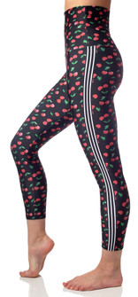 Emily Hsu Designs Cherries Blooms 7/8 Legging