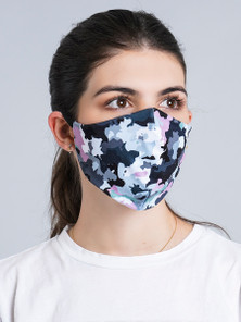 Protokolo Girl Camo Reversible Face Mask