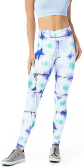 Vestem Color Tie Dye Scrunch Legging