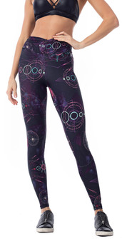 Vestem Purple Space Legging