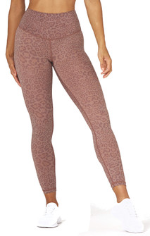 Glyder Apparel Sultry Legging In Cocoa Leopard Print