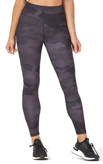Glyder Apparel Sultry Legging In Smoke Camo Print